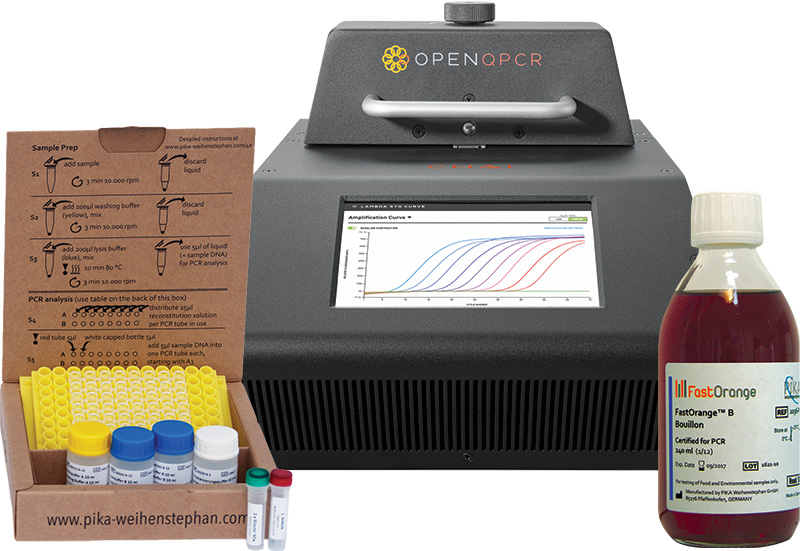 A complete PCR beer test solution